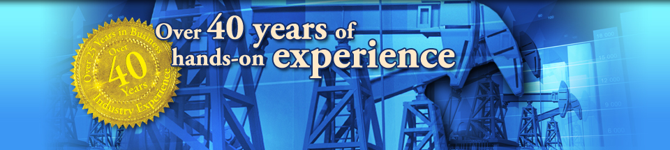 Over 40 years hands-on experience in energy valuation and consulting